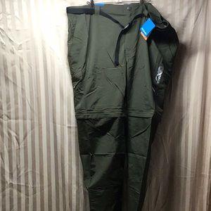 Columbia Omni-Shade Mens Sz 50x34 Green Pants